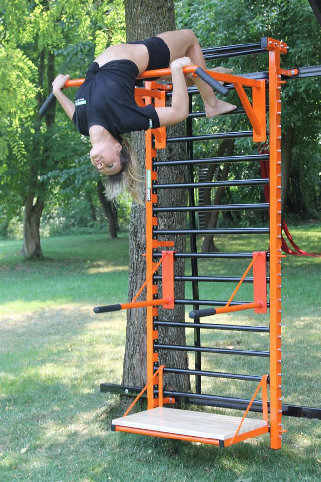 Espalier offres pour espalier espalier gymnastique espalier mural barre espalier equipment - Barre de traction exterieur ...