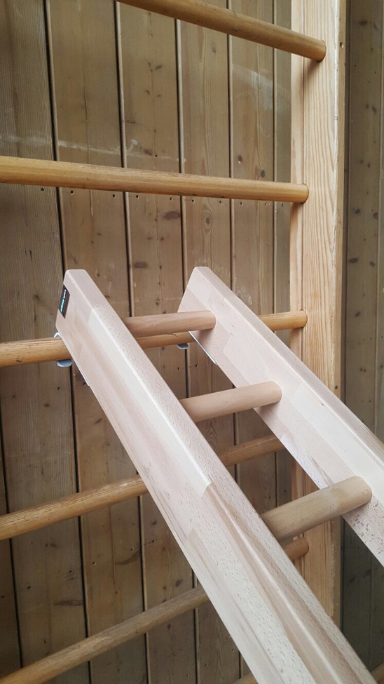 Swedish Ladder Wall Bars Gymnastic Metall Stall Bars