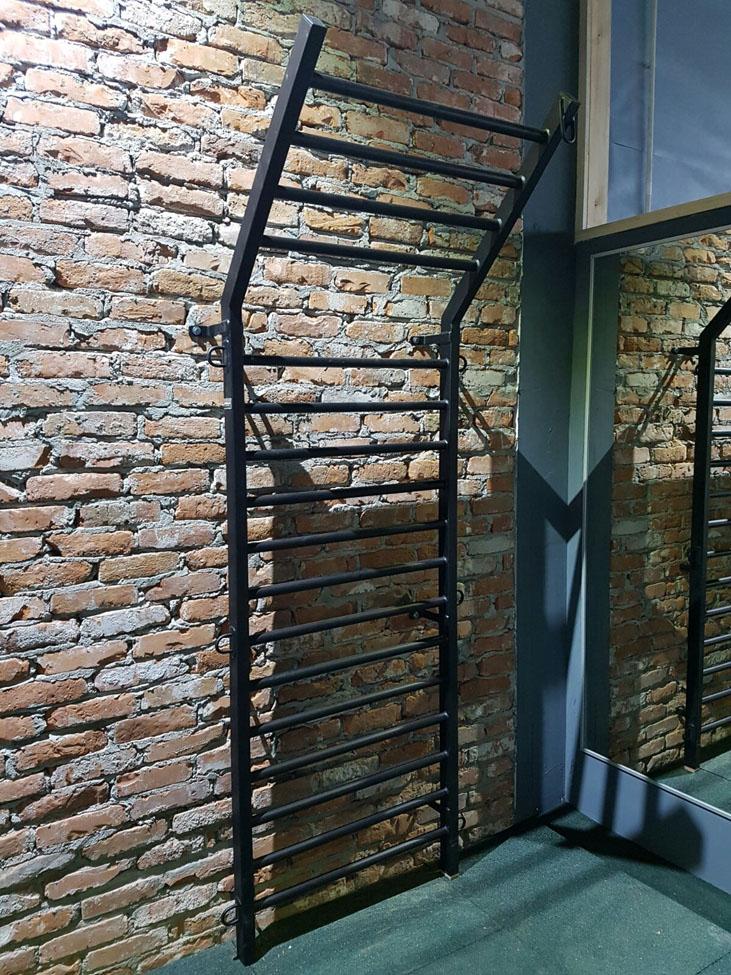 Swedish Ladder Wall Bars Gymnastic Metall Stall Bars