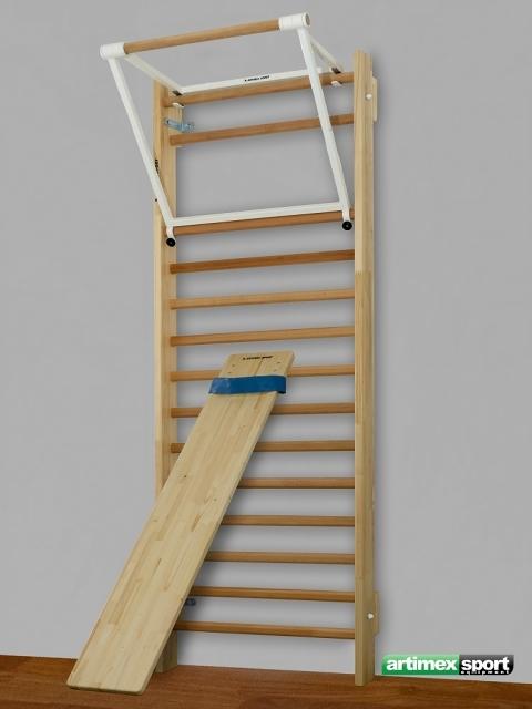 wall bar incline board pull up bar cod 263. Black Bedroom Furniture Sets. Home Design Ideas