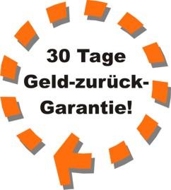 30 Tage Geld-zurück-Garantie!