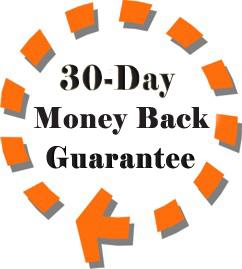 30-Day Money Back Guarantee!